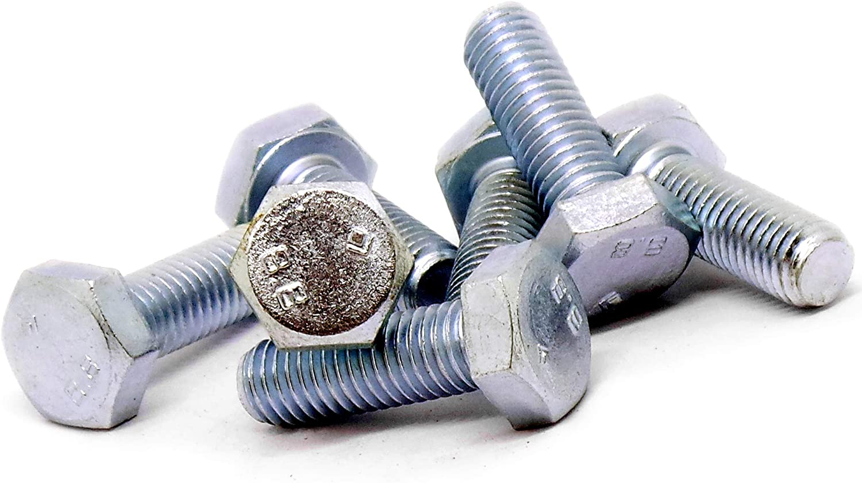 / acero, 10/unidades / M10/ totalmente roscados 10/mm x 30/mm hexagonal tornillos