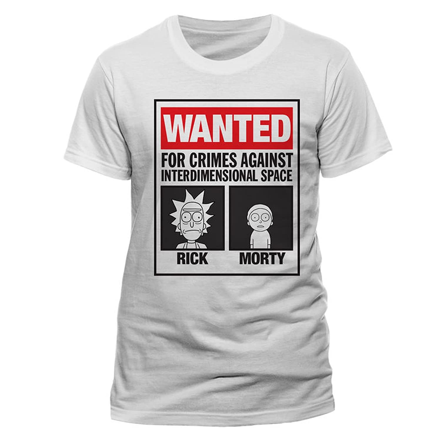 Rick and Morty Mugshots Adult Swim oficial Camiseta para hombre: Amazon.es: Ropa y accesorios