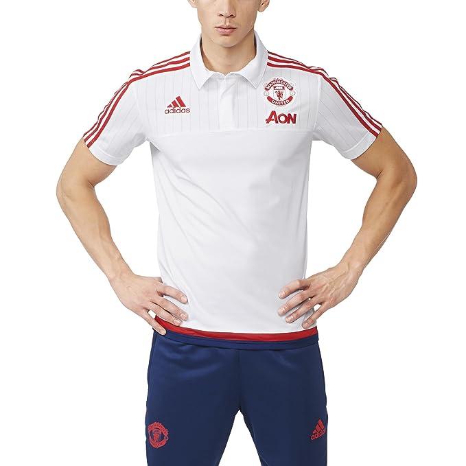2015 2016 adidas United Camiseta FC Polo Manchester eCrxdBo