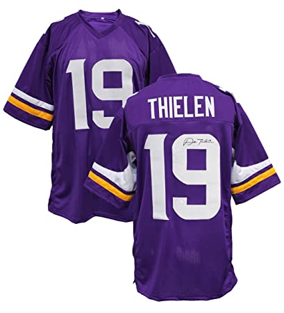 save off e6848 b1ba4 Authentic Adam Thielen Autographed Signed Custom Jersey ...