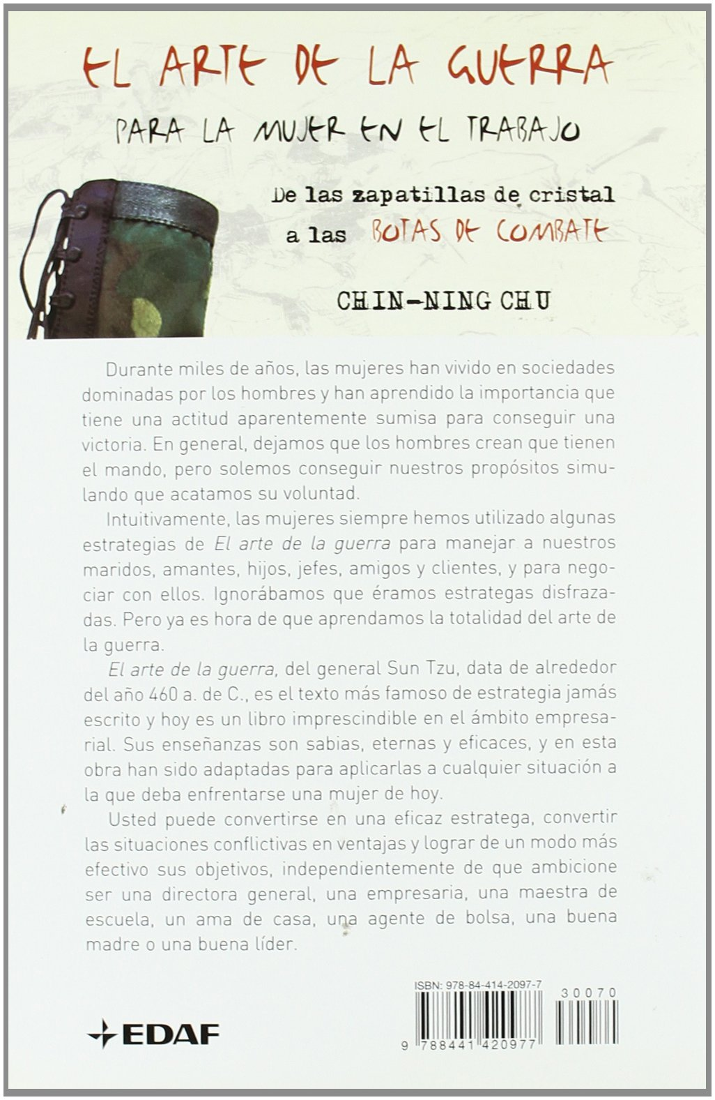 El Arte de la Guerra /para la mujer en el trabajo (Spanish Edition): Chin-Ning-Chu: 9788441420977: Amazon.com: Books