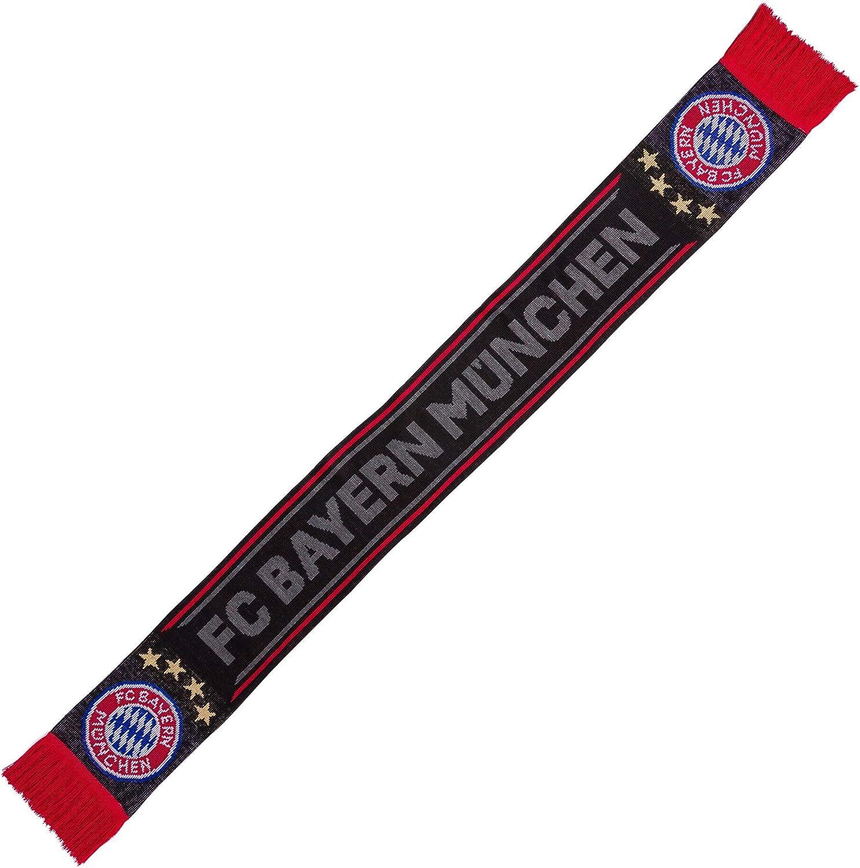 FC Bayern München Sciarpa nera Abbigliamento Calcio zlineproducts.com