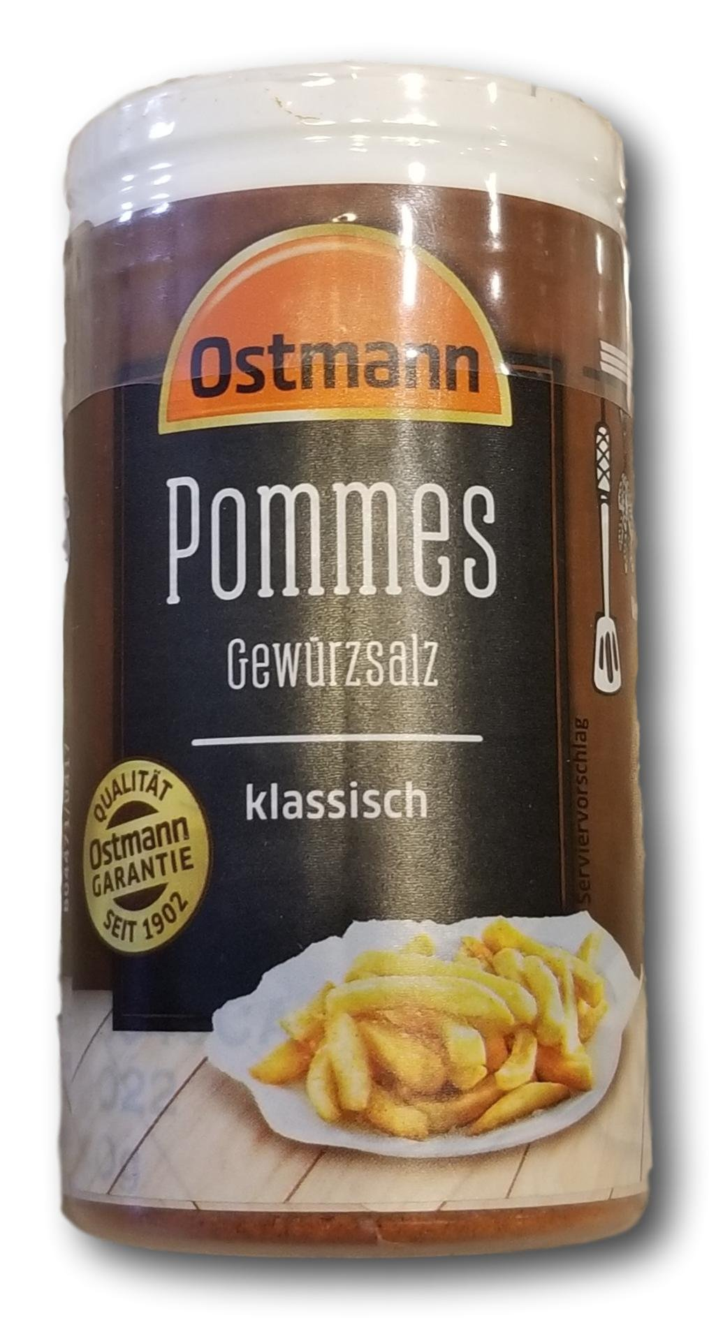 Ostmann German Style French Fry Seasoning- Classic Flavor