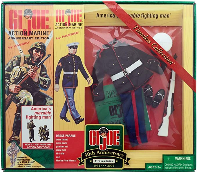 17th In Series GI JOE 40th Anniversary 2004 TIMELESS COLLECTION ACTION MARINE