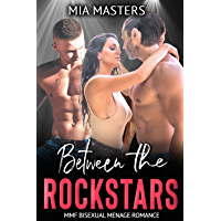 Between the Rockstars: MMF Bisexual Menage Romance (Between Them) (English Edition)