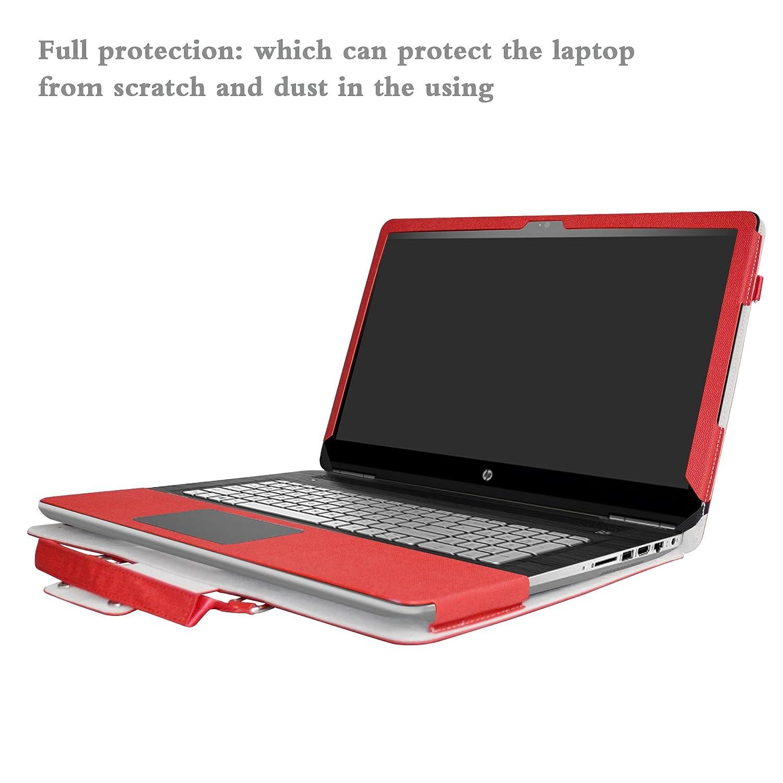ASUS N705UQ N705UD Housse,2 en 1 sp/écialement con/çu Etui de protection en cuir PU sac portable Sacoche pour 17.3 ASUS VivoBook Pro N705UQ N705UD N705UN Series ordinateur,Noir
