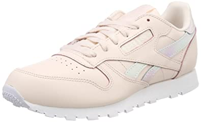 Reebok Classic Leather, Baskets Fille: : Chaussures