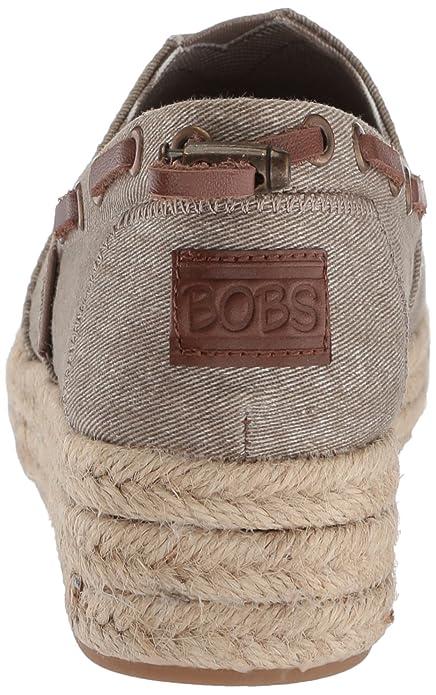 Amazon.com | Skechers BOBS Womens Highlights-Ocean Spell Ballet Flat | Shoes