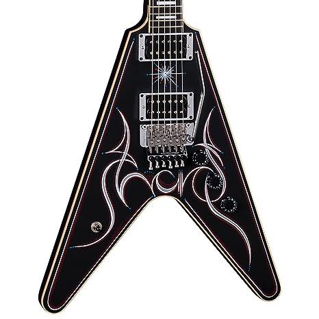 Dean Estados Unidos Tracii Guns firma V Floyd – Guitarra eléctrica, color negro