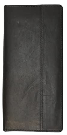 5d369b476c01 Zip Around Leather Travel Wallet with Passport and Boarding pass Holder by  Marshal