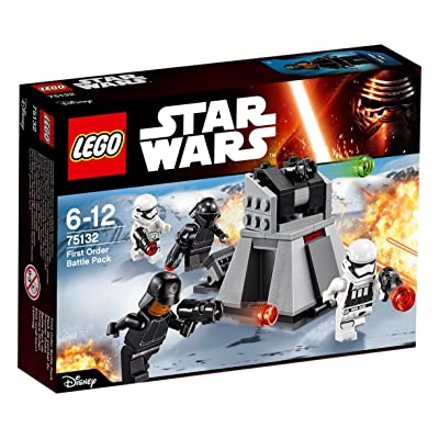LEGO (Star Wars Battle Pack Fast Order 75132: Toys & Games
