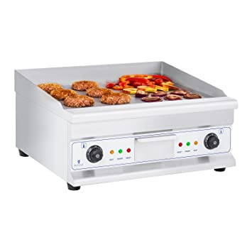 Royal Catering Plancha Grill Electrica Fry Top Parrilla ...