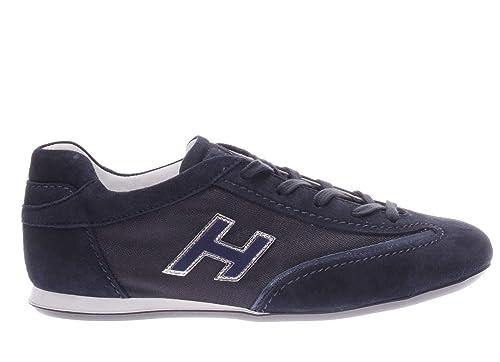 Hogan HXW05201684FP60KLA.Sneaker Olympia.Blu.39  Amazon.it  Scarpe e ... 197fe44c07f