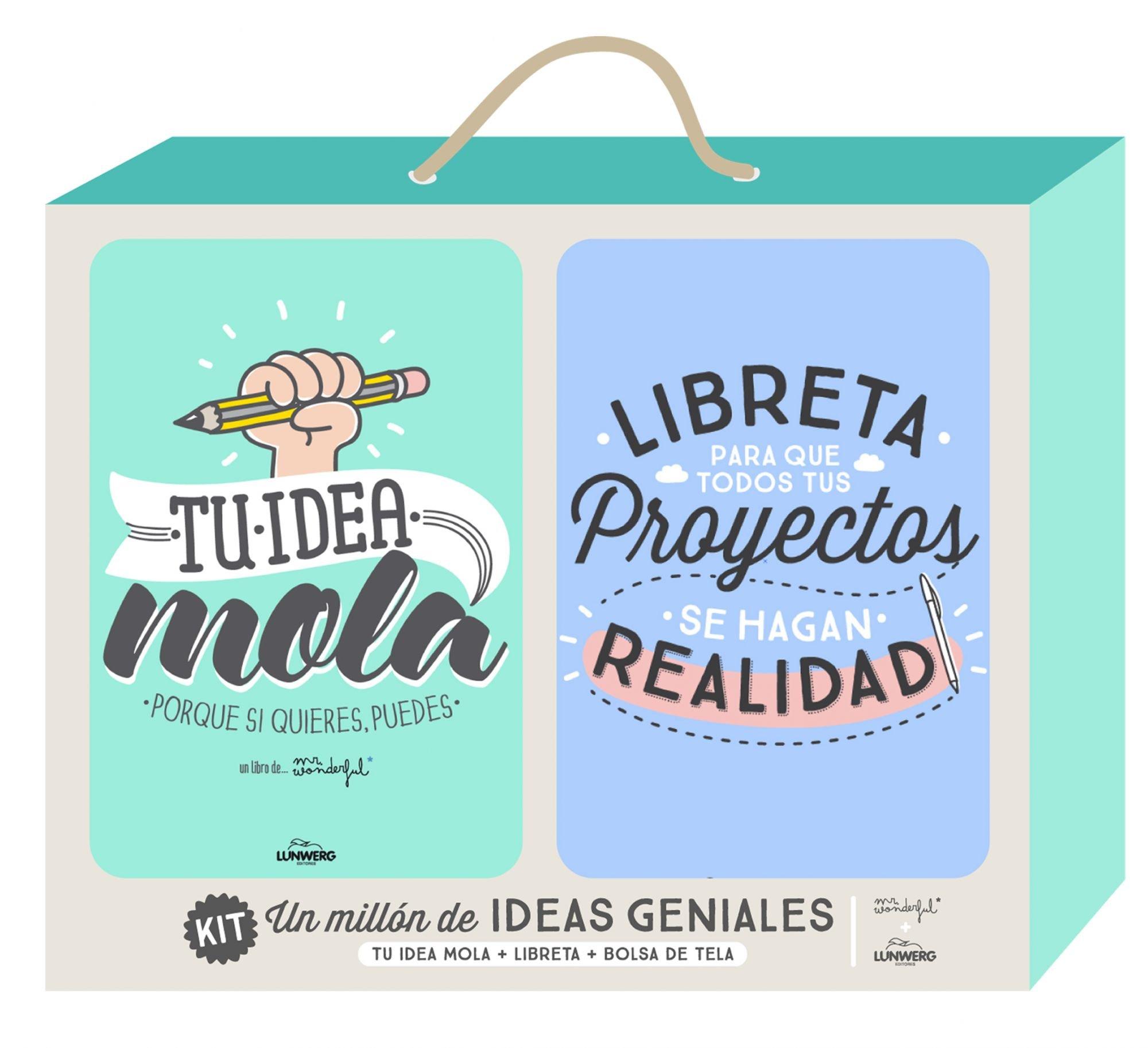 Kit Un millón de ideas geniales (Ilustración): Amazon.es: Mr. Wonderful: Libros