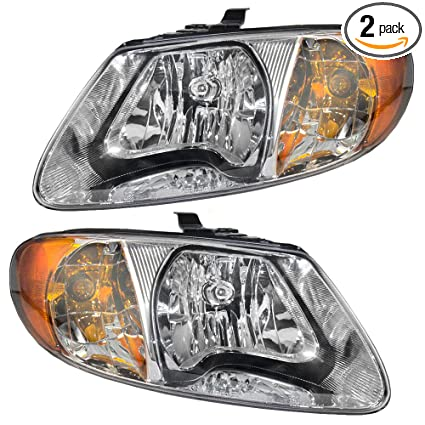 chrysler town and country 2005 headlight bulb