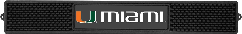 FANMATS - 14032 NCAA University of Miami Hurricanes Vinyl Drink Mat