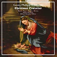Telemann: Christmas Cantatas III  [Monika Mauch; Nicole Pieper; Georg Poplutz; Klaus Mertens; Raimonds Spogis; Michael Alexander Willens] [Cpo: 555254-2]