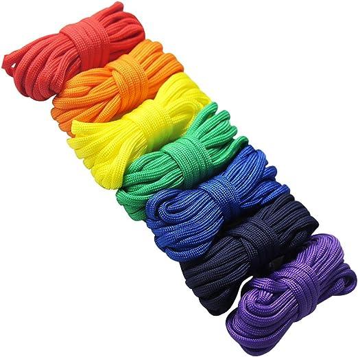 Juego de cuerdas de supervivencia, de edgeam, con cuerda de ...