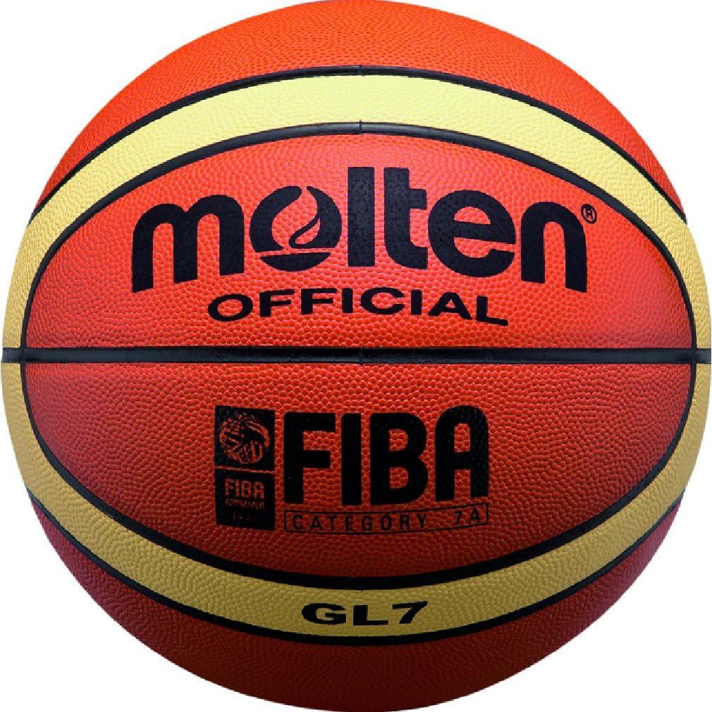 Molten – Balón de baloncesto (Piel Elite Competencia Tamaño 7 BGL7 ...