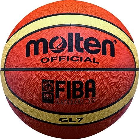 Molten - Balón de baloncesto (Piel Elite Competencia Tamaño 7 BGL7 ...