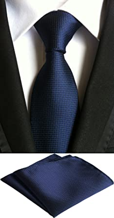 MOHSLEE Mens Formal Striped Suit Tie Handky Wedding Necktie /& Pocket Square Set