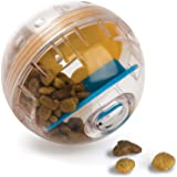 Pet Zone IQ Treat Ball – Adjustable Dog Treat Ball (Slow Feeder, Dog Puzzle Toy, Treat Dispensing Toy and Interactive Dog Toy