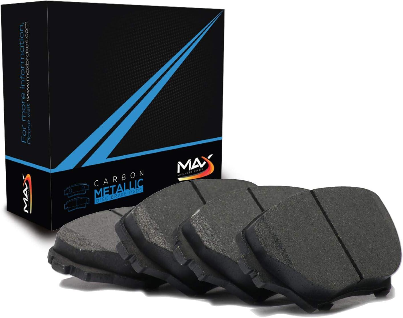 Max Brakes Rear Metallic Pads TA177552-2