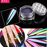 IGEMY Metal Chrome Nail Polish Powder Pigment Changing Colours Holographic Effect (K), 5gm