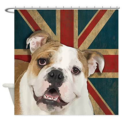 Image Unavailable Not Available For Color CafePress English Bulldog Shower Curtain