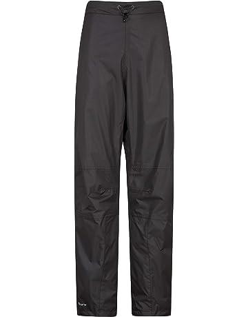 Mountain Warehouse Pantalon imperméable Spray Femmes - Doublure en Maille a7b5a1cf9a7