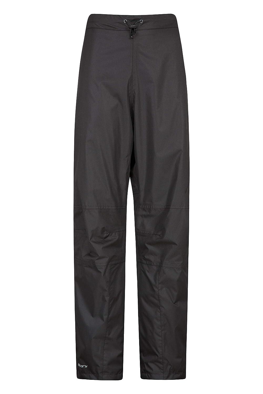 Mountain Warehouse Spray Wasserfeste Hose für Damen - Hose mit Netzfutter, Ripstop, Überhose mit Seitenreißverschluss am Bein - Für nasses Wetter, Wandern und Radfahren