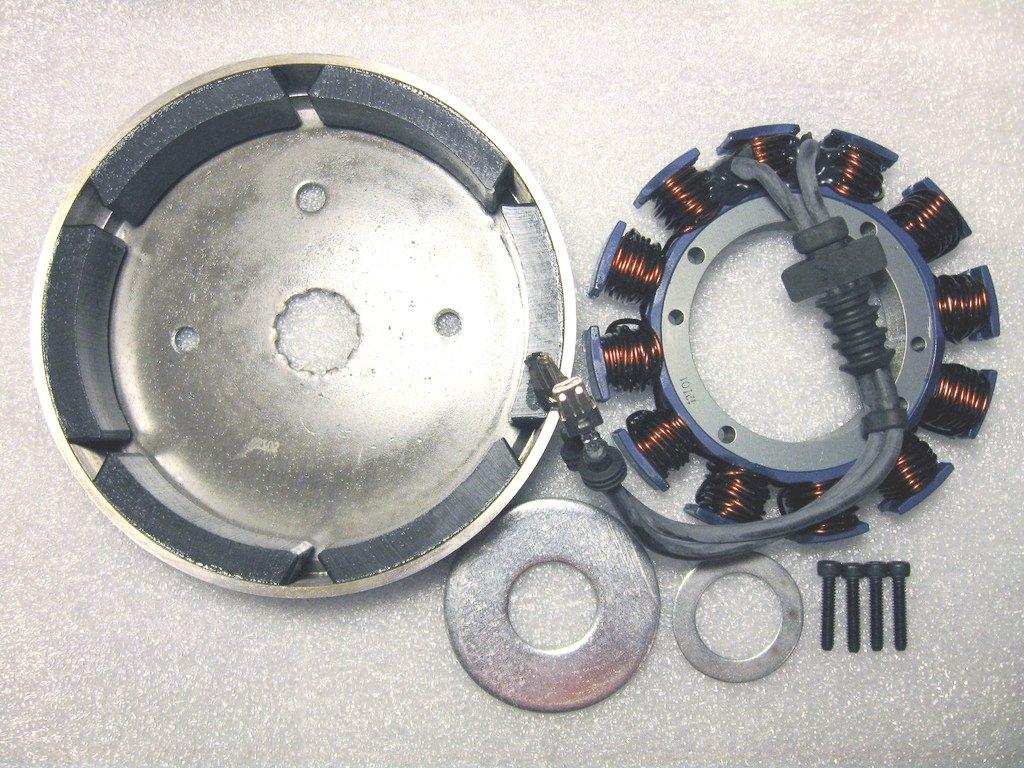 HARLEY DAVIDSON STATOR & ROTOR fits 2000 SOFTAIL & 1999-2003 DYNA Motoelectrix