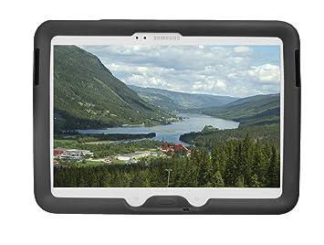 BobjGear - Carcasa Resistente para Tablet Samsung Galaxy Tab 3 10,1 Pulgadas, Modelos gt-p5200, gt-p5210, gt-p5220, Funda Protectora, Color Negro