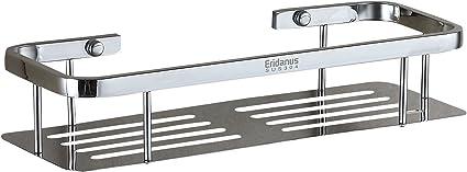 Eridanus Estante para Ducha, Estantería de Baño Rectángulo de Acero Inoxidable en la Pared Bandeja Taladrada de Cocina para Accesorios de Baño, ...