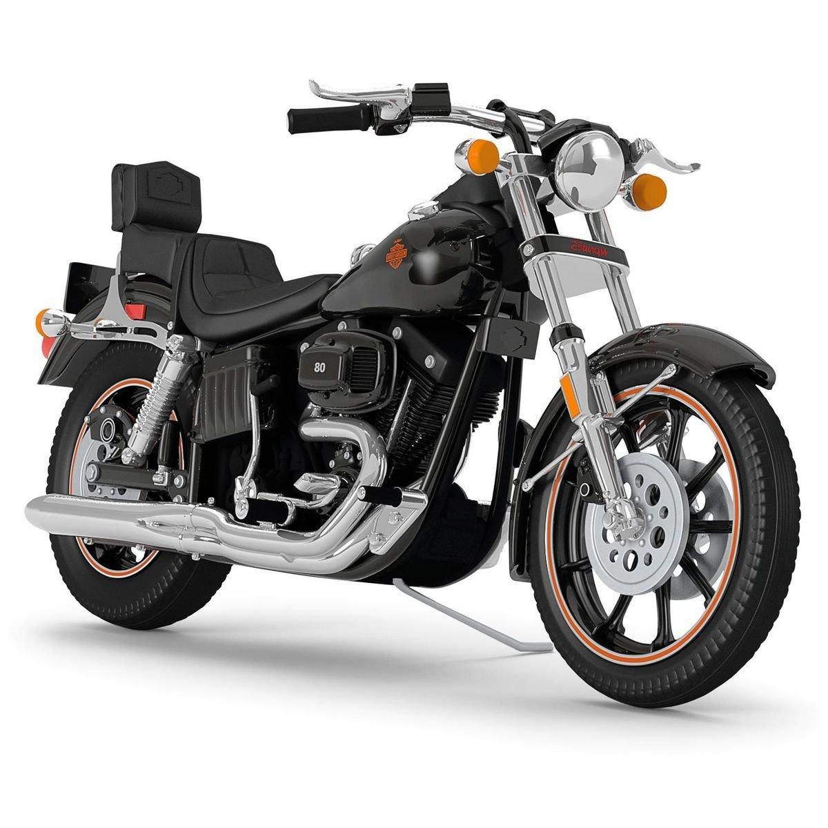 1980 FXB Sturgis Harley-Davidson Motorcycle 2016 Hallmark Keepsake Ornament B01MTKNKB7