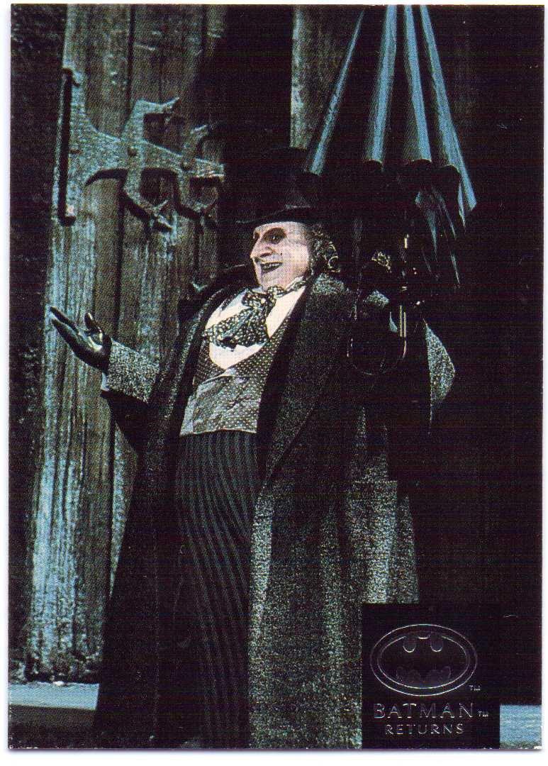 Batman Returns 1992 Stadium Club #33 - The Penguin, Danny DeVito
