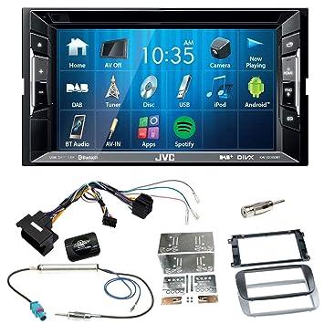 JVC KW-V235DBT Bluetooth DAB USB MP3 CD Aux Autoradio: Amazon.de ...