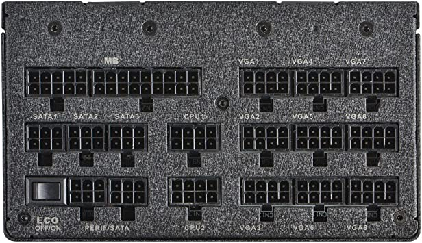 Amazon Com Evga Supernova 1600 T2 80 Titanium 1600w Eco Mode Fully Modular Nvidia Sli And Crossfire Ready 10 Year Warranty Power Supply 220 T2 1600 X1 Computers Accessories