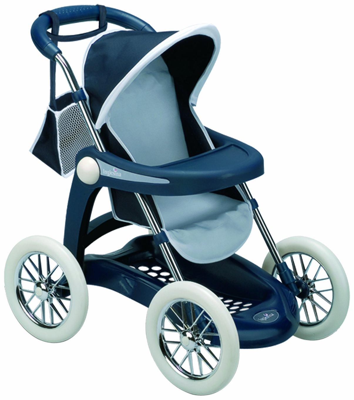 Inglesina - Sillita Plegable, Color Azul Marino (Smoby 516781)