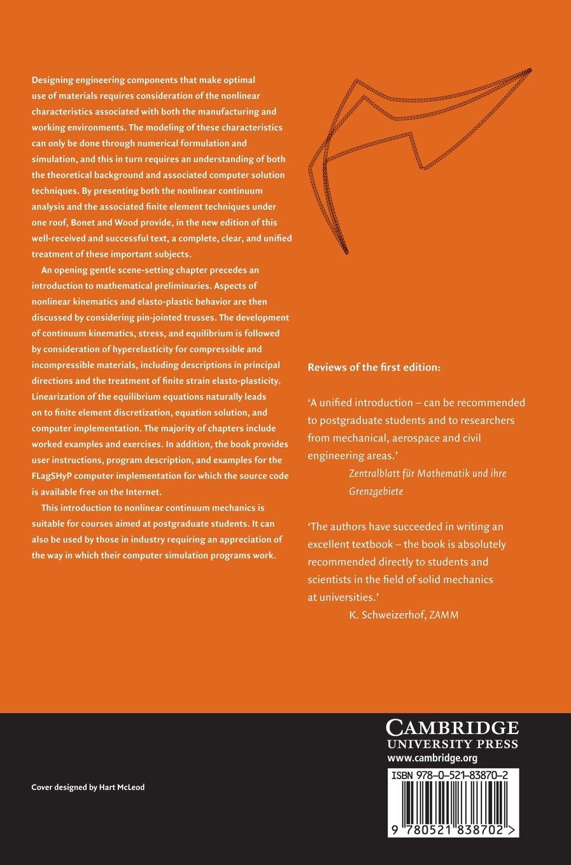 Buy nonlinear continuum mechanics for finite element analysis book buy nonlinear continuum mechanics for finite element analysis book online at low prices in india nonlinear continuum mechanics for finite element analysis fandeluxe Choice Image