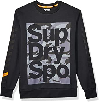 Superdry Herren Combat Boxer T-Shirt