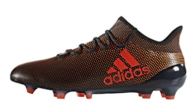 newest 957f5 4a0fe Image Unavailable. Image not available for. Color adidas Mens X 17.1 Firm  Ground Soccer Cleats ...