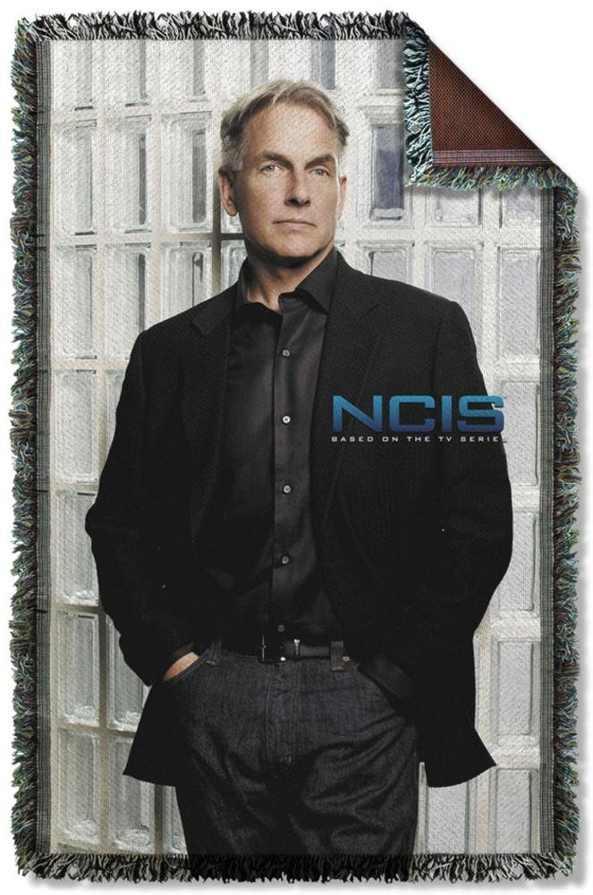NCIS - Glass Wall Woven Throw Throw Blanket 35 x 57in