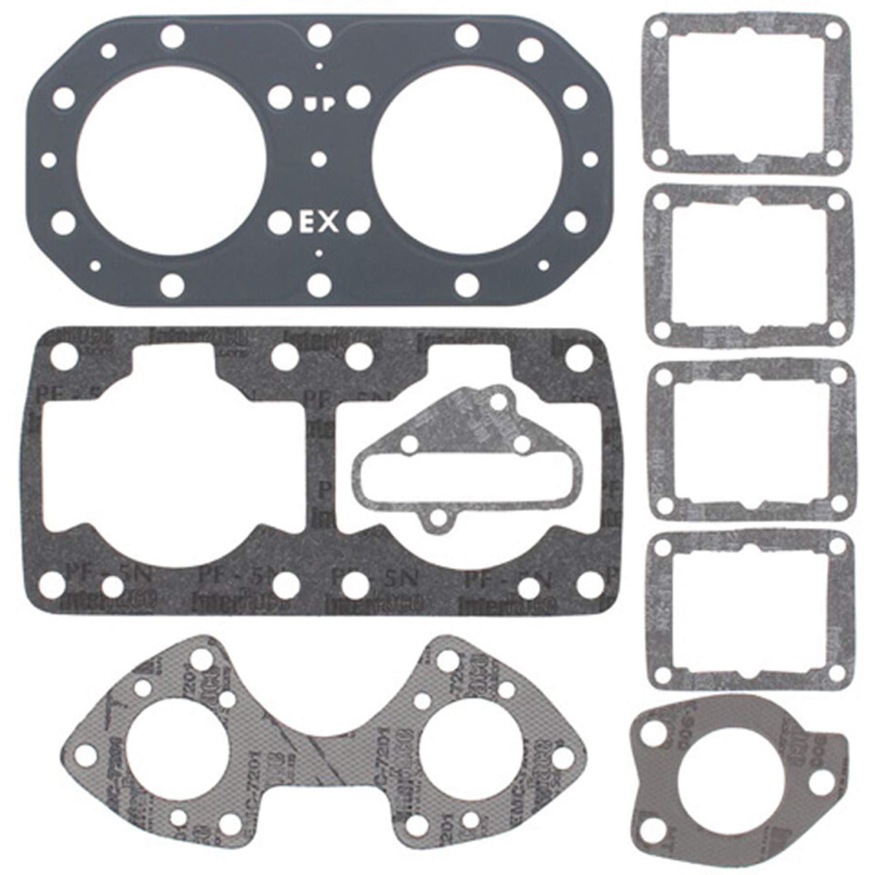 Top End Gasket Set For 1989 Kawasaki JS650 650SX Personal Watercraft by RD - Winderosa