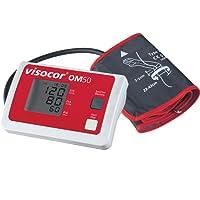 visocor OM50 - Blutdruckmessgerät Oberarm mit Universal-Bügelmanschette (22-43cm) zur vollautomatischen Messung von Blutdruck und Puls