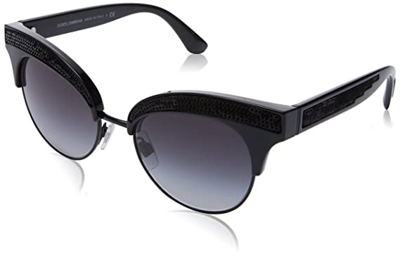 Dolce   Gabbana 0DG6109 501 8G 50, Montures de Lunettes Femme, Noir  (Black Gradient)  Amazon.fr  Vêtements et accessoires fef934069b04