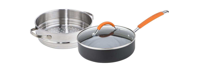 Joe Wicks Easy Release Aluminium non-stick cookware - 24cm/2.8L 2in1 Multipan (Saute/steamer) Meyer Group Ltd 11657