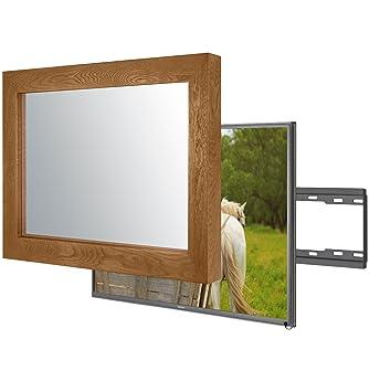 Handgemacht Eingerahmter Spiegel TV mit Samsung: Amazon.de ...