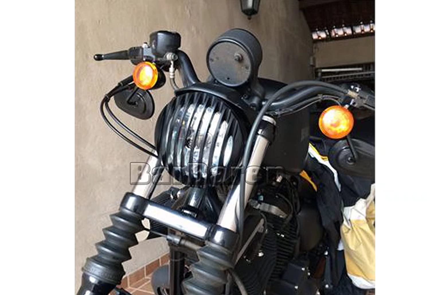 For Harley Davidson Sportster XL 883 883N 1200 2004-2014 Headlight Grill Cover