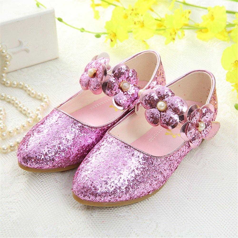 monsieur / madame labiti filles enfants habillent mariage princesse cosplay des chaussures de princesse mariage mary jane crystal faible pailleté mousseux talon des chaussures de forte chaleur et de la résistance à l'u sure et l'é conomie allemande wa16042 haute qualité po c5ce8e